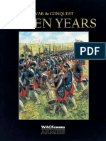 WAC Armies Book Seven Years V1