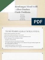 Teori Perkembangan Moral