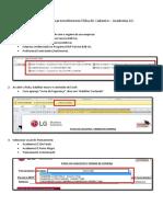 Manual de Preenchimento Ficha Cadastral LG
