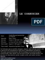 206633979 History of Arch Le Corbusier Ppt