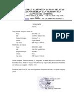 Surat Tugas Iswanto
