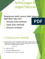 Pengukuran Dan Perhitungan Debit