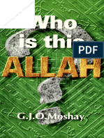 [G.J.O. Moshay] Who is This Allah(B-ok.xyz)