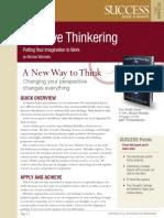 Creative Thinkering Summary