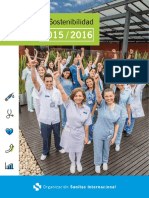 Informe de Sostenibilidad OSI 2015 - 2016