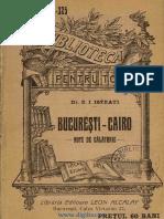 Bucureşti-Cairo - Note de Călatorie