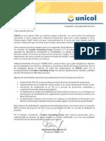Modelo Carta de Referencia