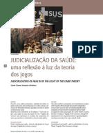 ALCÂNTRA, Gisele Chaves Sampaio. Judicialização da saúde - uma reflexão à luz da teoria dos jogos.pdf