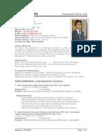 Sample CV of Civil Engineer