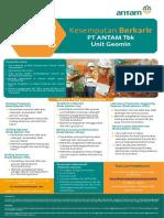 Rekrutmen PT Antam Tbk Unit Geomin 2018 - Indonesiaa