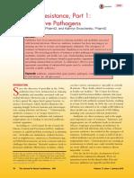 cơ chế kháng thuốc Gram (+) 2