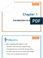 Chapter 1-Getting to Know AutoCAD