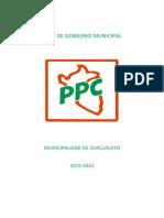Plan de Gobierno PPC Chaclacayo