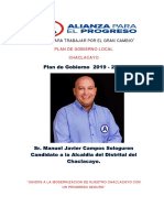 Plan de Gobierno APP Chaclacayo