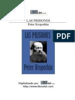 Las Prisiones - Pedro Kropotkin