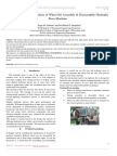 Paper on Design and Analysis of Wheel set assembly & Disassembly Hydraulic Press Machine