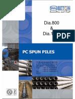 Spun Pile Wika-tp 800&1000