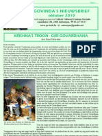 Govinda's E-Nieuwsbrief 2010_10