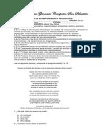 p.a.p. Español Sexto 3 Periodo