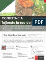 Conferencia Caroline Bacquet UA