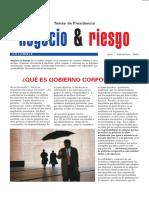 09. Qué Es Gobierno Corporativo Julio 2003