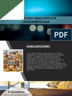 LITERATURA VANGUARDISTA LATINOAMERICANA