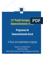 11th EDF Overview