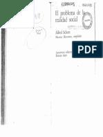 Alfred Schutz El Problema de La Realidad Social 141117064815 Conversion Gate01 PDF