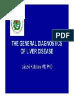The General Diagnostics of Liver Disease