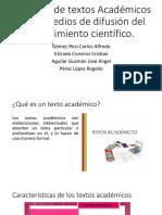 Tipología de textos Académicos.pptx