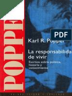 Popper Karl - La Responsabilidad De Vivir.pdf