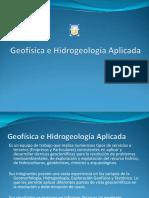 Geofisica e Hidrogeologia Aplicada