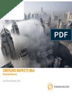 3Q10 MA Emerging Market Financial Advisory Review