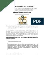 3 Lectura Manual Procedimiento Dinapen 2015