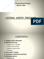 Lateral Earth Pressures MITS-Shivvy