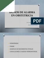 Signos de Alarma en Obstetricia