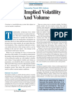 Technical Analysis Of Stocks & Commodities - Using Implied Volatility And Volume With Code