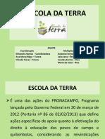 APRESENTAÇÃO ESCOLA DA TERRA 2014.pptx
