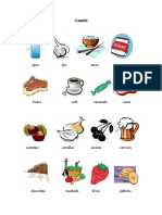 Vocabulario comida ELE