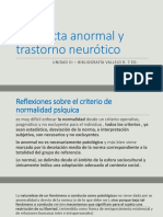 Caracterististicas anormales