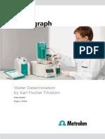 Water determination by Karl Fischer titulation - monografia Metrohm 955289_80265013.pdf