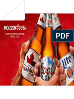 TAP Molson Coors Ny Investor Deck Final 2018