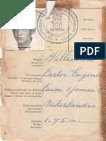 (Curacao) Carlos Hellemun Ship Book Log (In Papiamento)