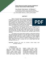 Analisa Variasi Tinggi Keluaran Tabung Kompresor t