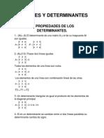 Matrices y Determinantes 2