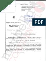 Escrito de la Fiscalía sobre el caso PGOU