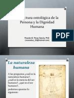 Naturaleza Humana - DIgnidad Humana