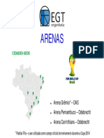 Apresentacao Arena Gremio