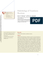 Pathobiology of Transfusion Reactions