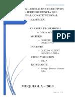 Derecho Colectivo Jurisprudencia